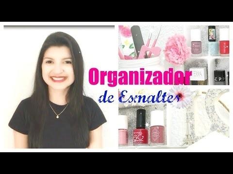 ORGANIZADOR DE ESMALTES | DIY