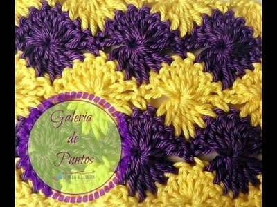 ABANICOS REFLEJADOS a Crochet