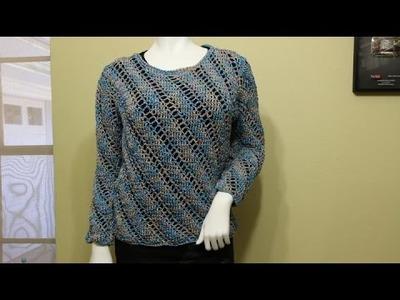 Blusa o Suéter Crochet parte 1 de 3
