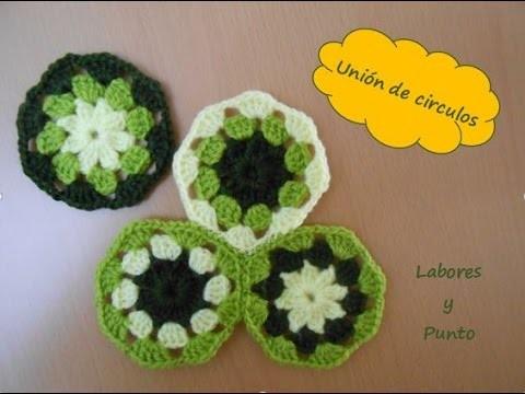 Como unir estos circulos de flor tejidos a ganchillo o crochet