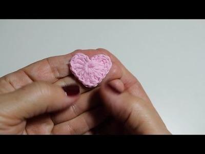 Corazones a Crochet paso a paso I Happy Valentine's Day !! I cucaditasdesaluta