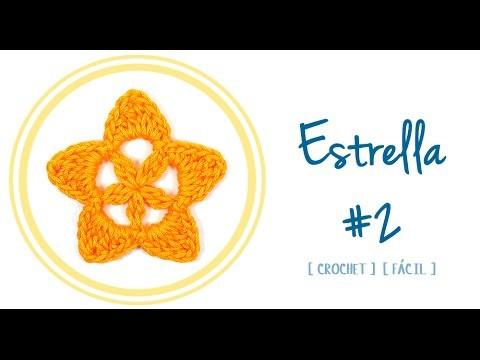ESTRELLA A CROCHET #2 | Patrones Valhalla