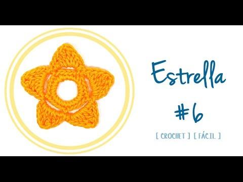 ESTRELLA A CROCHET #6 | Patrones Valhalla