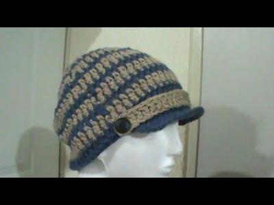 Gorro para niño. hombre tejido a crochet TUTORIAL