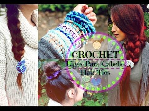 Ligas Para El Cabello de Crochet | Tejiendo Con Erica