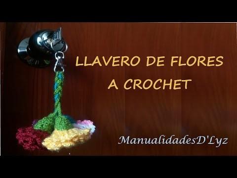 Llavero a crochet facil de aprender - PASO A PASO