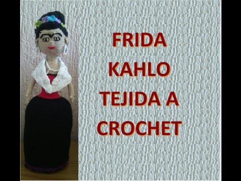 Muñeca de Frida Kahlo tejida a crochet Primera parte