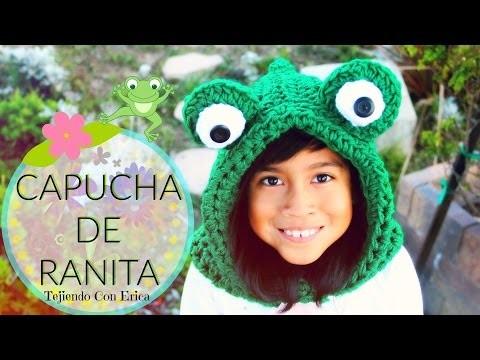 Capucha De Ranita CROCHET TUTORIAL | Tejiendo Con Erica