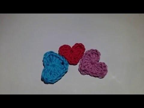 Cómo hacer un corazón a crochet