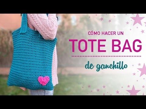 Cómo hacer un TOTE BAG de ganchillo | Crochet tote bag