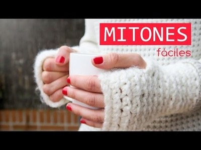 Cómo hacer unos mitones de ganchillo | Crochet mittens