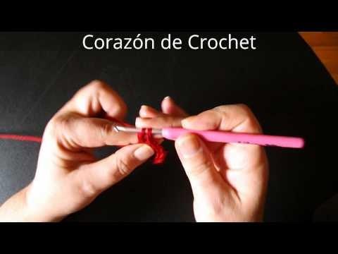 Corazón de Crochet