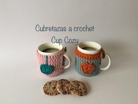 """Cubretazas a crochet """"Cup Cozy"""""""