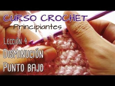 CURSO CROCHET para Principiantes - Lección 4