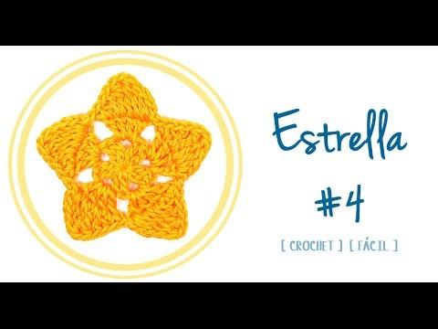 ESTRELLA A CROCHET #4 | Patrones Valhalla