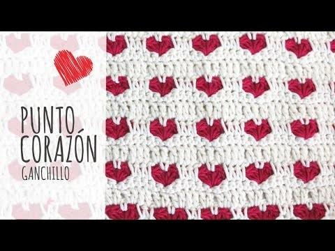 Tutorial Punto Corazón Ganchillo | Crochet