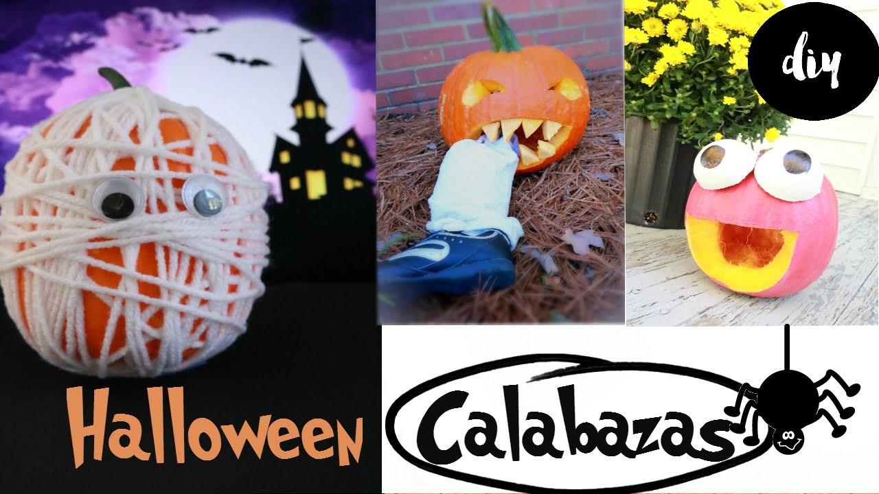 Calabaza para Halloween. COLAB.  how to  carving  halloween pumpkins