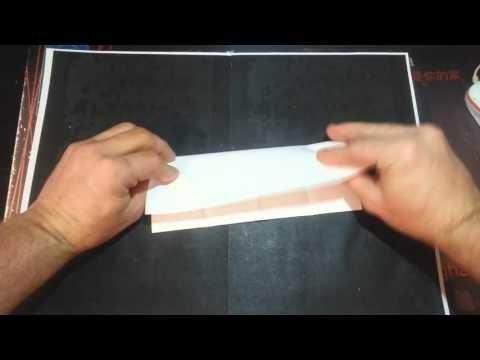 Cómo hacer un barco de papel | how to make a paper boat