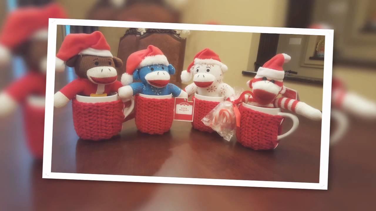 Taza navideña a crochet para hacer en 15 minutos!!!!