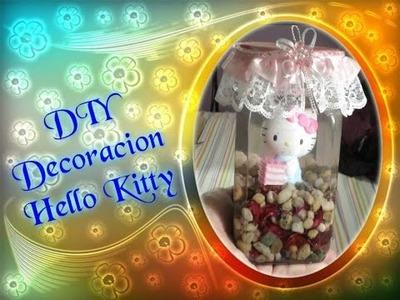 DIY: Decoracion Hello Kitty