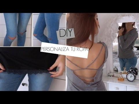 DIY: PERSONALIZA TU ROPA