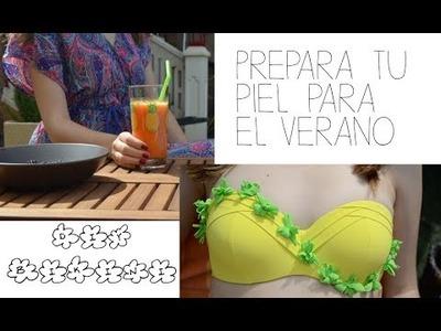 Prepara tu piel para el verano + DIY bikini