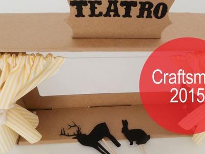 Cómo hacer un teatro de sombras | DIY | Craftsmas 2015