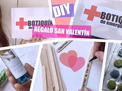 DIY: BOTIQUÍN PARA SAN VALENTÍN
