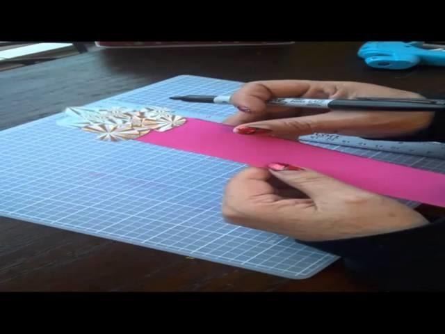DIY San Valentine Bookmarks. Marcador de pagina para San Valentin