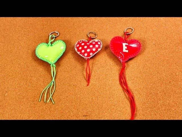 Corazones Para El  Día de San Valentín -  Porta Llaves - Llavero - Manualidades -  DIY
