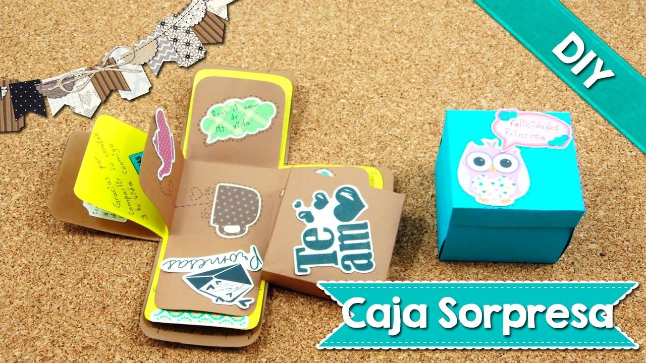 DIY | Caja Sorpresa | Exploding Box | Tarjeta | Fácil