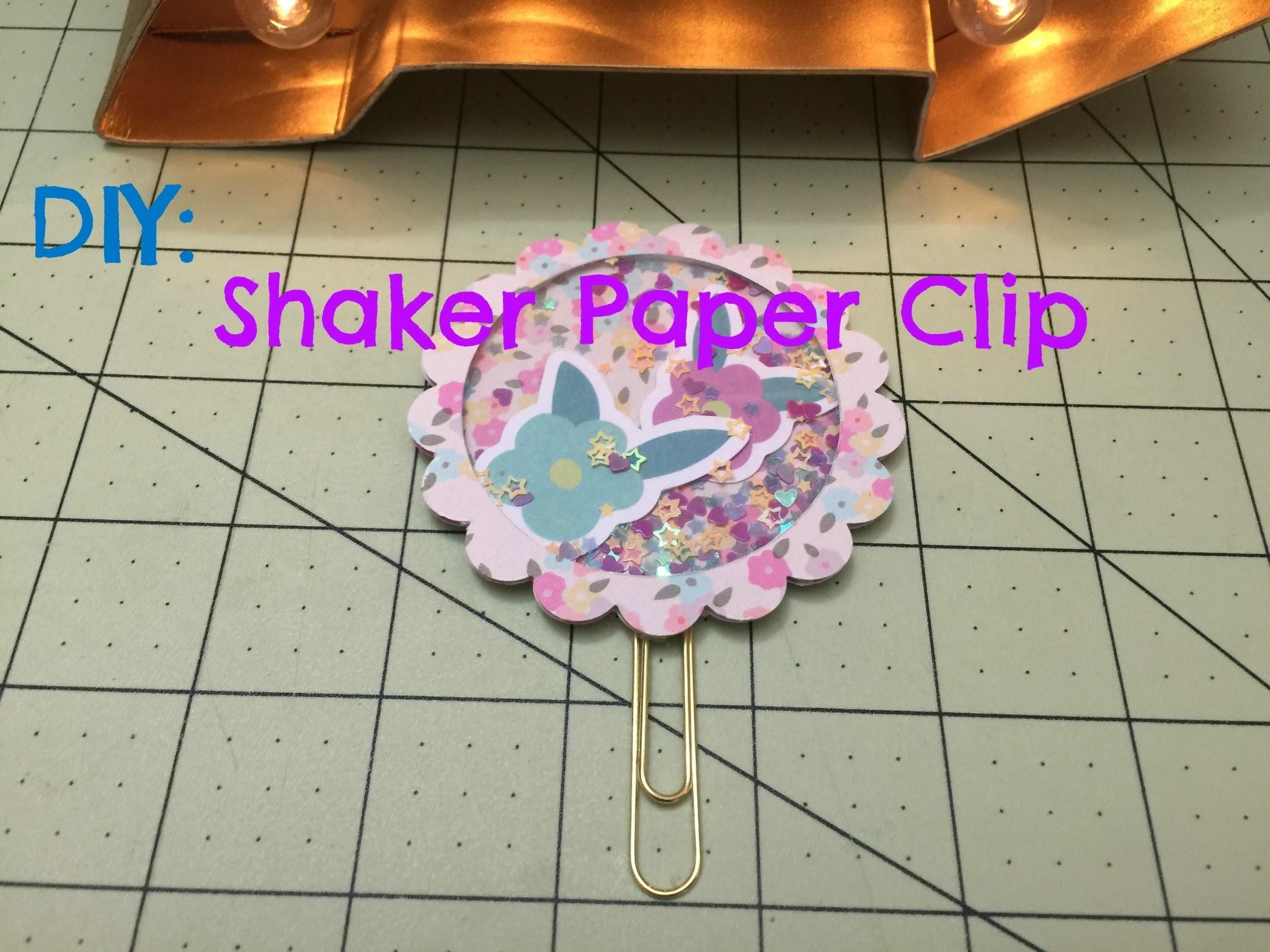 DIY: Shaker Paper Clip
