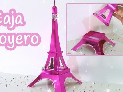 Manualidades: CAJA o JOYERO Torre Eiffel - Innova Manualidades