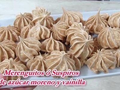MERENGUITOS DE AZUCAR MORENO - Silvana Cocina y Manualidades