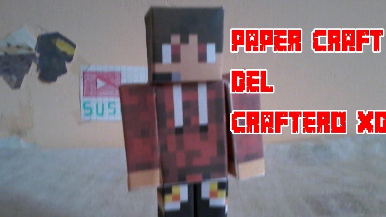 Paper Craft de el Craftero ¿quieres una?