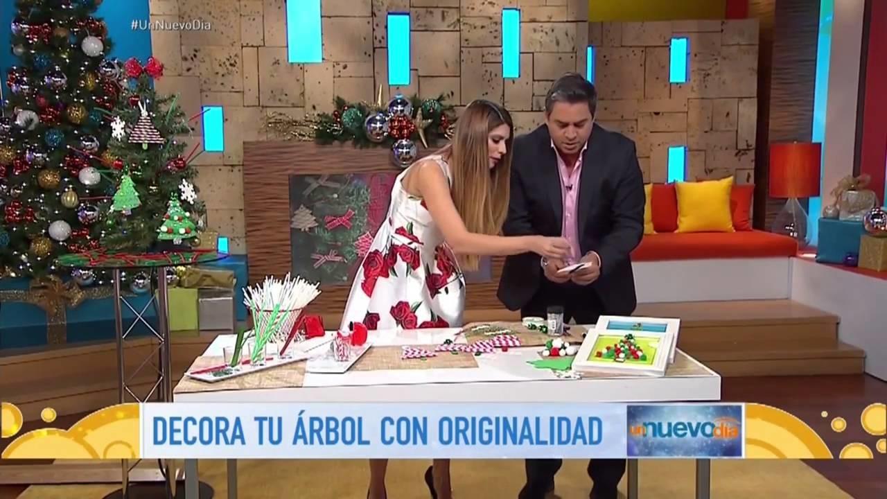 DIY - Como hacer Adornos para tu arbolito, fácil y barato