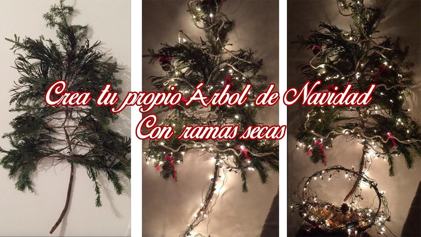 DIY: Crea tu propio Árbol de Navidad con Ramas y Esferas | Christmas Tree ♡ True Vally