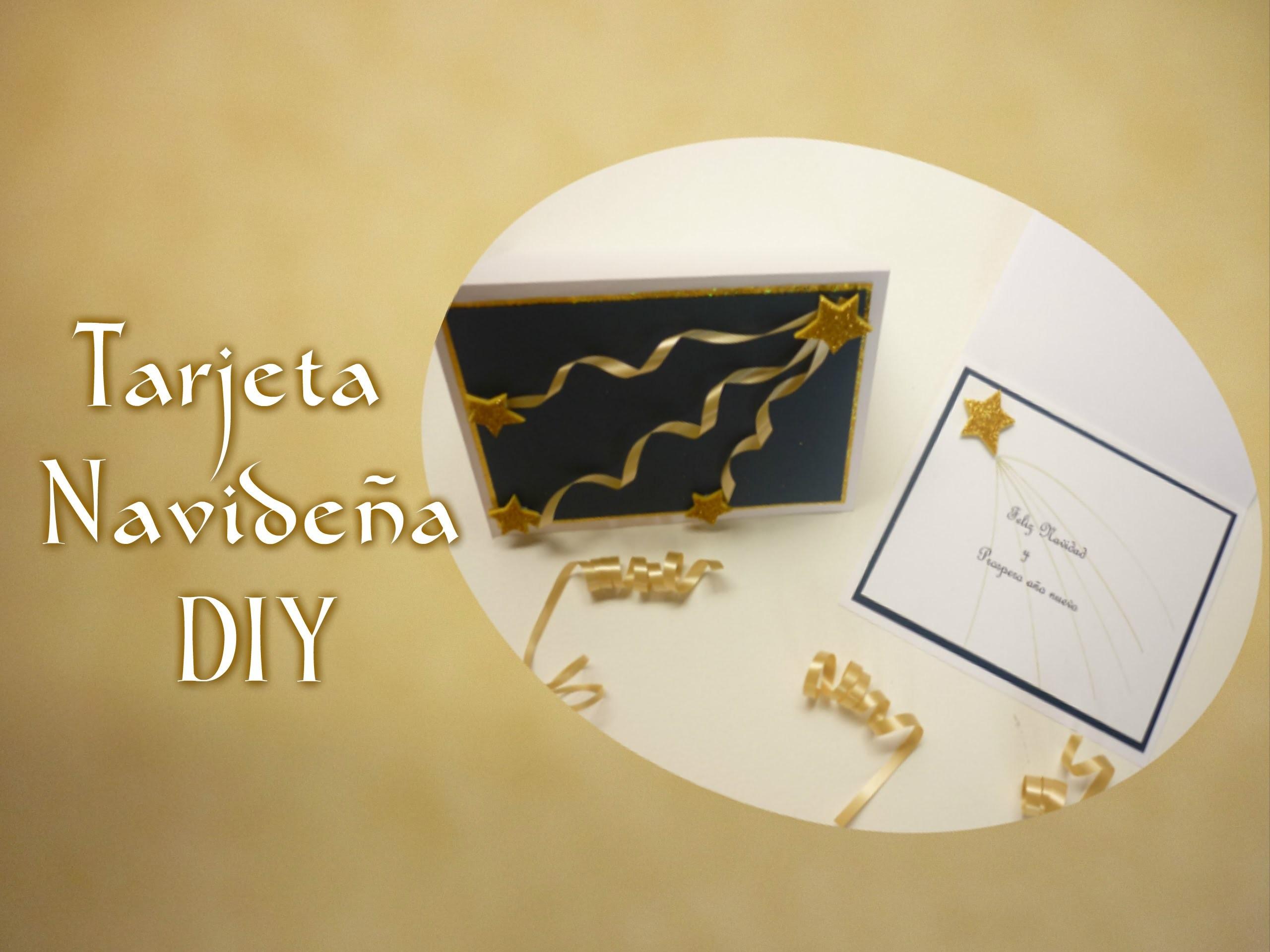 Manualidades:COMO hacer TARJETA para NAVIDAD  DIY-  Making for CHRISTMAS CARD