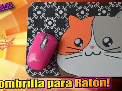 ♥ Tutorial: Alfombrilla para Ratón con Gatito Kawaii de Goma Eva.Foamy ♥