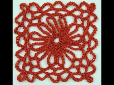 Crochet: Cuadrado # 12