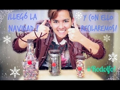 #58 ¡LLEGÓ LA NAVIDAD Y CON ELLO A RECICLAR! | D.I.Y. ♥
