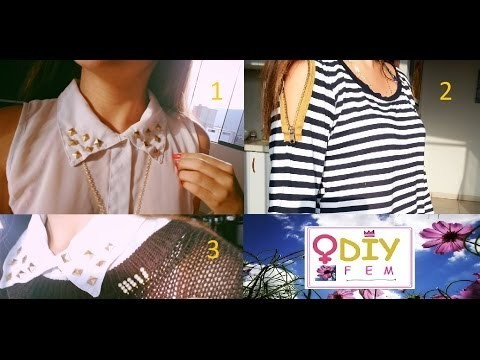 DIY 3 ideas para decorar tu ropa-MUY FACIL