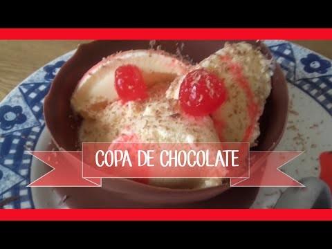 DIY Copa de  Chocolate - Haz un rico postrecito