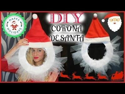 DIY CORONA DE SANTA Navidad Con: Glam Barbie EPISODIO #3