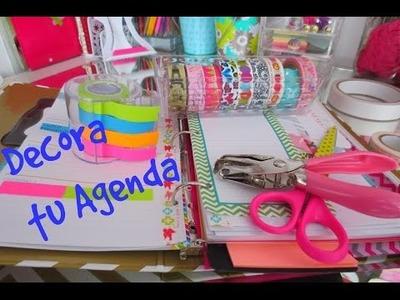 DIY Decora Tu Agenda y ten control de tus gastos. Septiembre