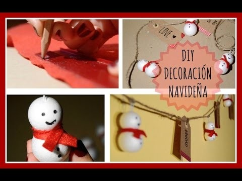 DIY · Decoración Navideña | evainpieces