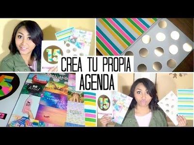 Haz tu Propia Agenda! *Weekly Planer* ^Super Fácil^ -DIY- MonCruzPinto♥