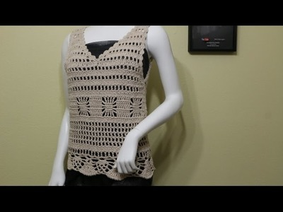 Blusa Primavera Crochet