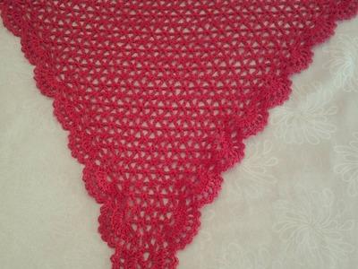 Chal de primavera a #crochet  #tutorial #DIY#