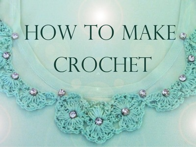 Como remodelar tu ropa con encajes a crochet   How to make remodeling your clothes with lace crochet